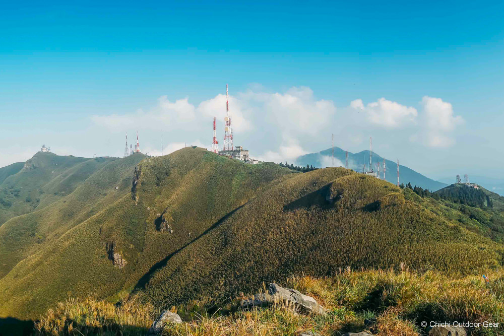 【北投登山】大屯主峰連峰步道|陽明山系|秘境小觀音山西峰與戰備道