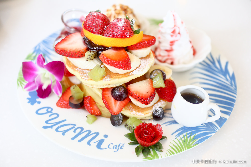 【板橋下午茶】OYAMI CAFE新埔店|近捷運新埔站下午茶約會享受義式時光甜點鬆餅排餐義大利麵一次滿足