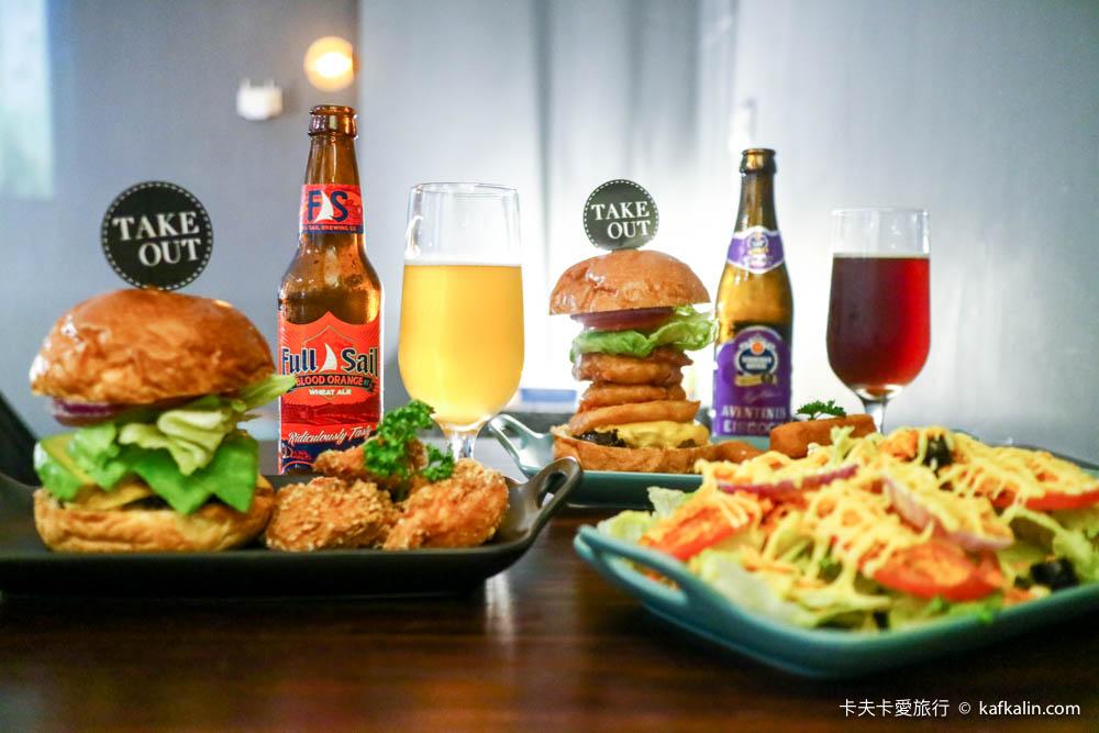 【台北捷運忠孝新生站】TAKE OUT Burger & Cafe|貓咪餐廳貓大人坐鎮的美式手工漢堡