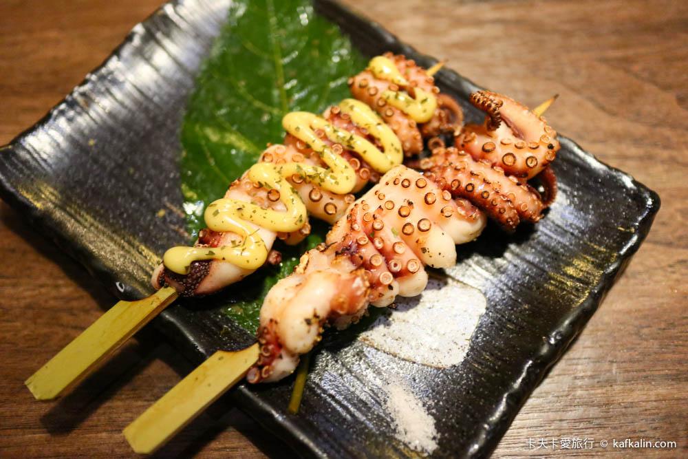 【南港展覽館】武侍酒日式串燒居酒屋 必推烤章魚與牛肉串聚餐餐廳