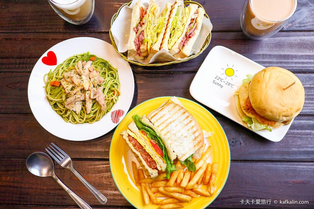 【羅東早午餐】喫堡|宜蘭風格的早餐必點限量版辣豬鮮蔬起司三明治、三星嫩蔥鴨賞三明治