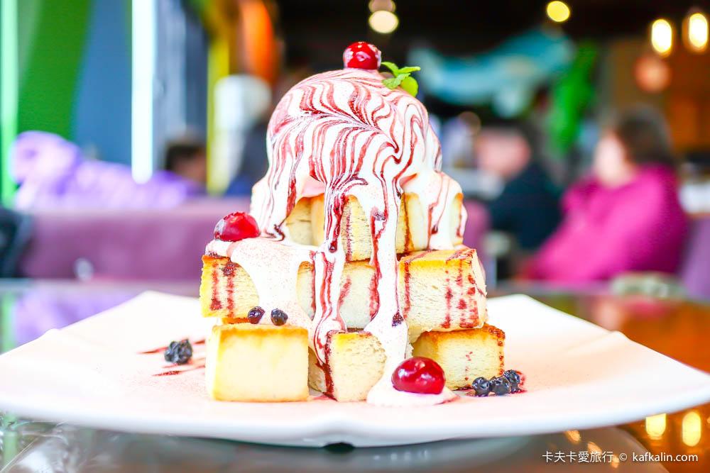【宜蘭美食】蘭陽溪口親子餐廳|看龜山島美景品嚐蜜糖吐司下午茶義大利麵