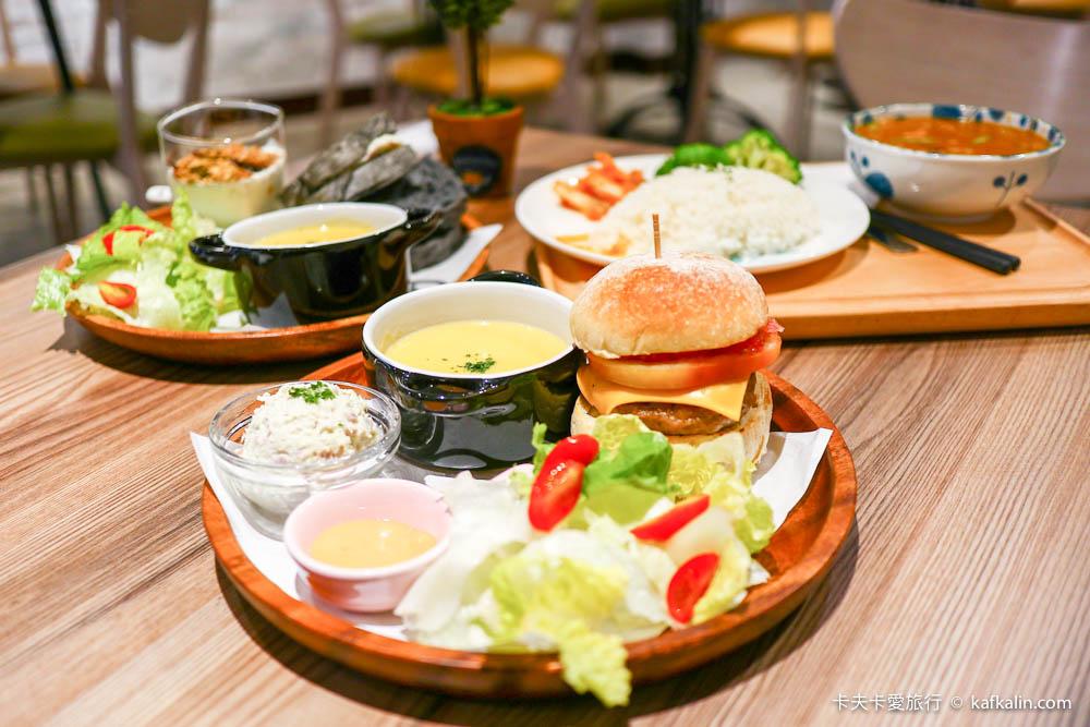 【羅東輕食下午茶】Homing Cafe|必點手工homing漢堡及南洋風味咖哩飯及手做瑪德蓮布朗尼