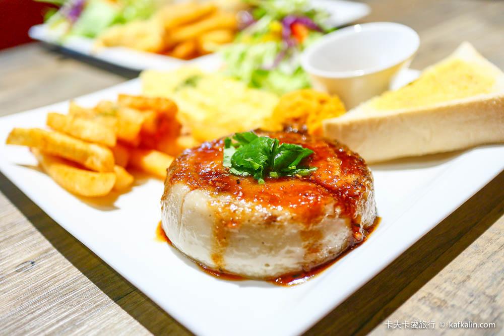 【宜蘭早午餐】AJ Brunch|氣質早餐店推薦台客風碗粿&厚切沙朗牛排