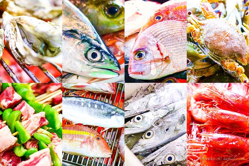 【宜蘭海鮮吃到飽】海世界碳烤|火鍋現流海產生蠔胭脂蝦時魚燒烤秘訣大公開