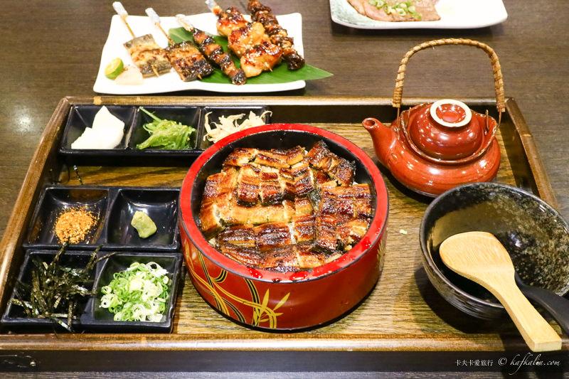 【台北中山站】浪漫鰻屋|日式料理鰻魚飯專門店鰻三味