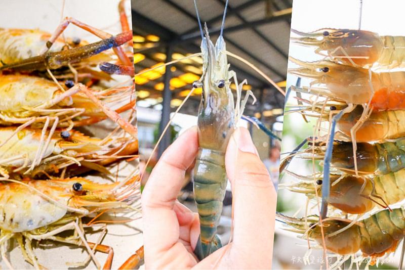 【宜蘭釣蝦快炒】蘭楊蟹莊&蘭楊船菜|生態養殖泰國蝦親子釣蝦場DIY美味料理