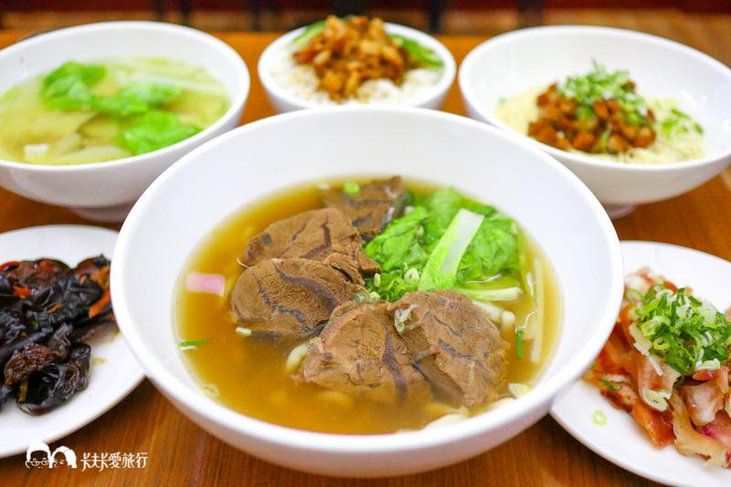 【宜蘭小吃】一方牛肉麵|限量大骨漢方湯頭與第一名的滷肉乾麵