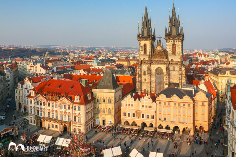 【捷克蜜月DAY7】布拉格查理大橋天文鐘|一日城市漫步老城市鎮廳跳舞的房子