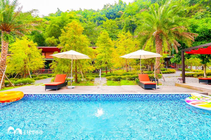 【宜蘭民宿】寒溪幾度咖啡莊園|山林中品味咖啡放鬆度假游泳池的親子美好假期