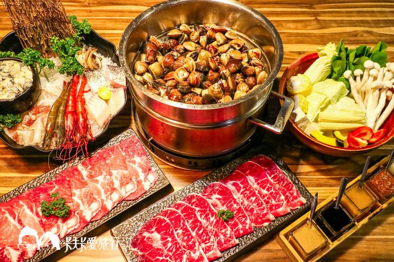 【台北松山火鍋】極蜆鍋物 民生社區品嚐新鮮蛤蠣精華的濃郁甘甜湯底