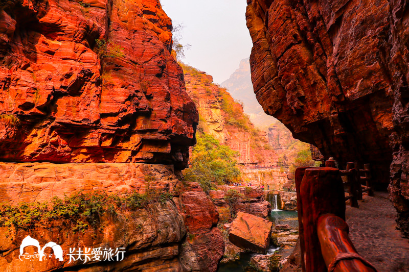 【大陸河南】雲台山紅石峽|首批列入聯合國教科文組織世界地質公園名錄