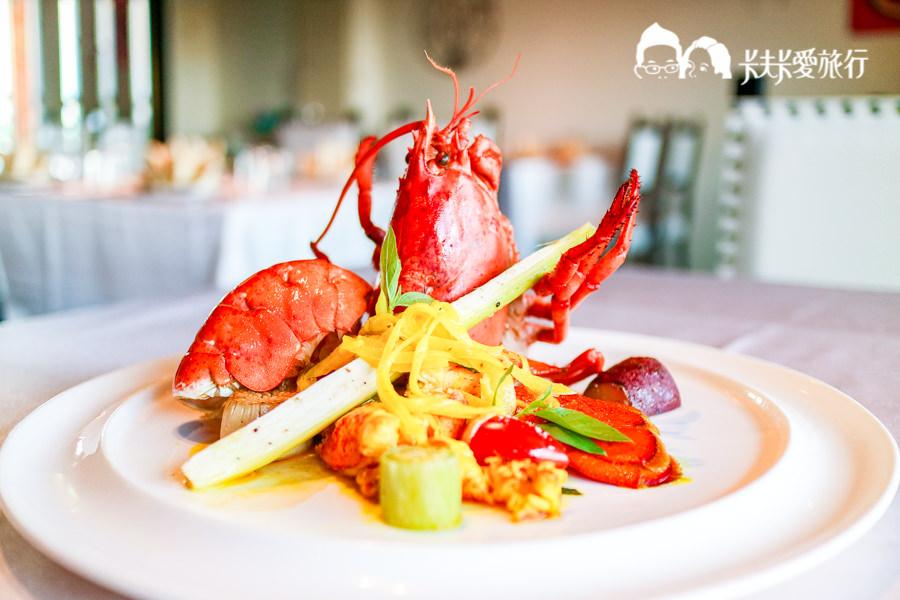 【礁溪美食】Ambrosia俺不捨餐廳|山泉大飯店義法料理預約制慶生約會求婚餐廳