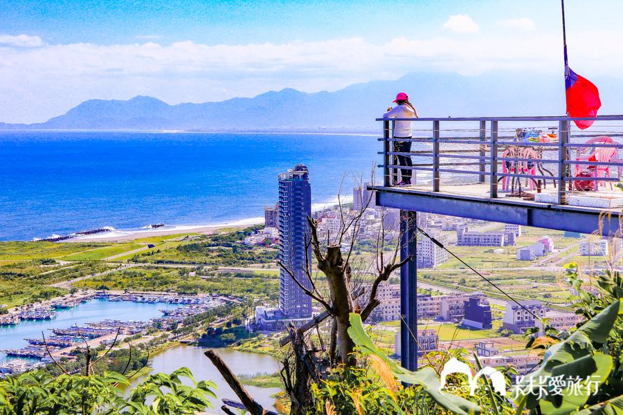 【宜蘭秘境】蟾蜍山觀景台|無敵海景壯觀夜景!用鳥的視角看龜山島與蘭陽平原