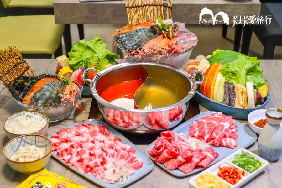 【宜蘭美食火鍋】老婆吃鍋|頂級牛肉海鮮高質感鍋物!推薦螃蟹龍蝦角蝦牛小排