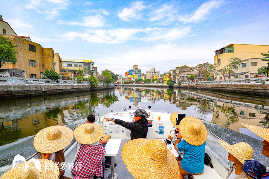 【台南遊程】安平運河夜景遊船暢遊文化古都|立驛國際安平遊港遊運河觀光船