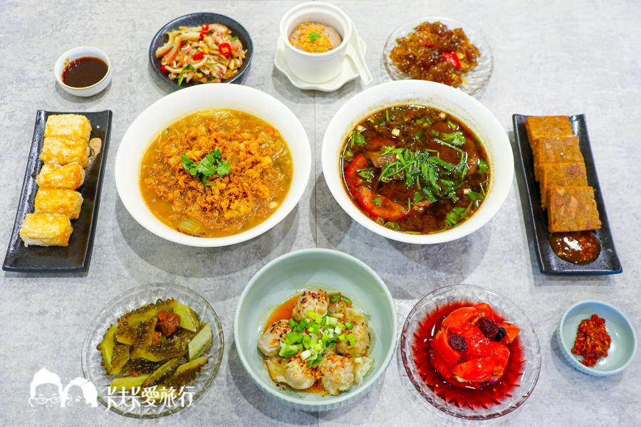 【宜蘭小吃】拾松 西魯肉糕渣芋泥牛肉麵麵疙瘩!單點就能品嘗宜蘭傳統辦桌菜