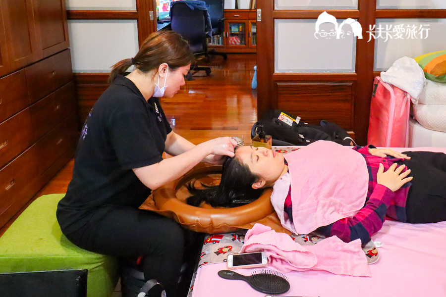 【孕婦日記】薑貴妃行動到府薑汁洗頭髮 坐月子洗髮宜蘭台北到宅生薑洗頭價格