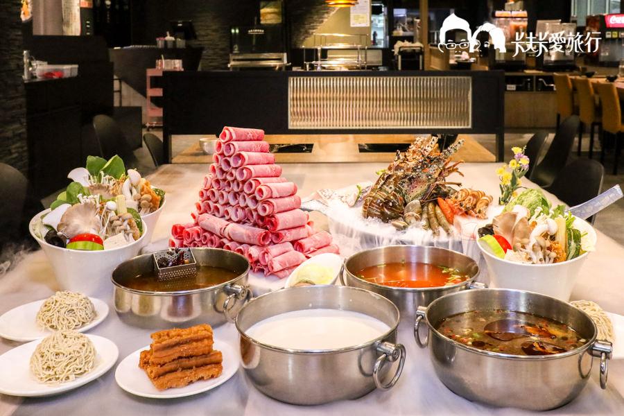 【台北永安市場站】肉老大頂級肉品涮涮鍋|超澎湃肉塔麻辣火鍋飲料冰品吃到飽