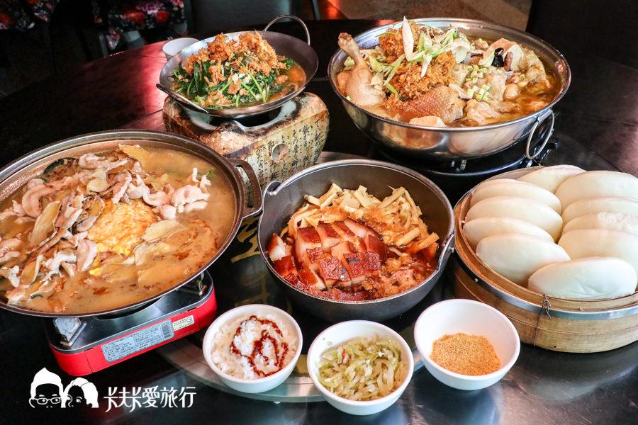 【台中美食】彭城堂臺菜海鮮餐廳|超好拍古早懷舊風餐廳!經典美味合菜辦桌菜