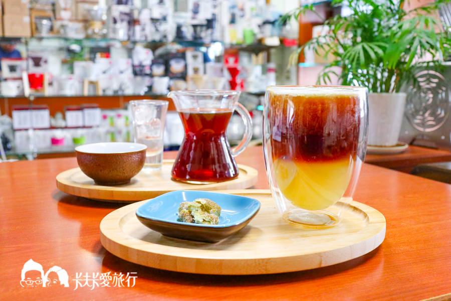 【台中咖啡】金士咖啡|兩姊妹的隱藏版自家烘焙咖啡廳!必點蜂蜜檸檬氣泡咖啡
