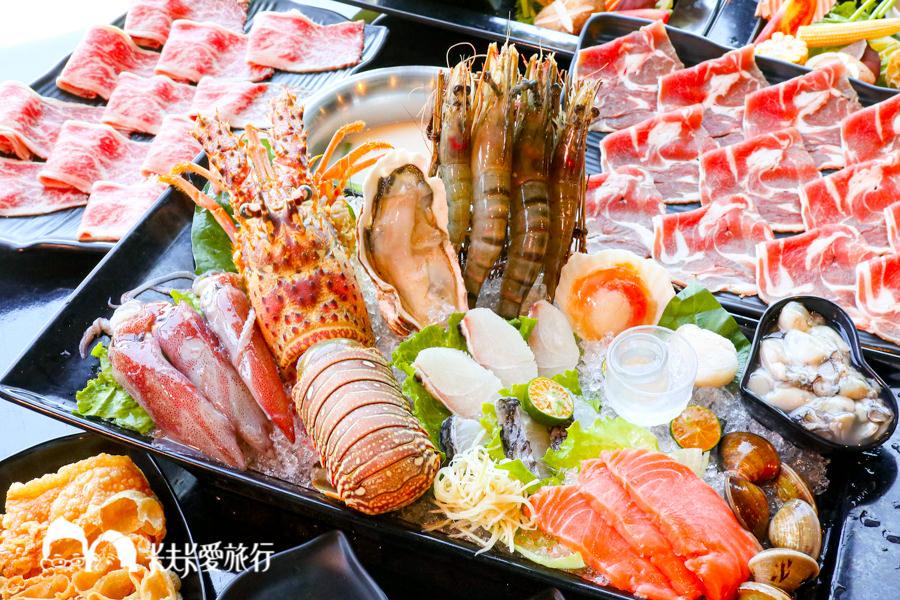 【宜蘭火鍋】金鐤精緻鍋物|海鮮控必來大尾龍蝦麻辣鍋!國道五號宜蘭交流道旁
