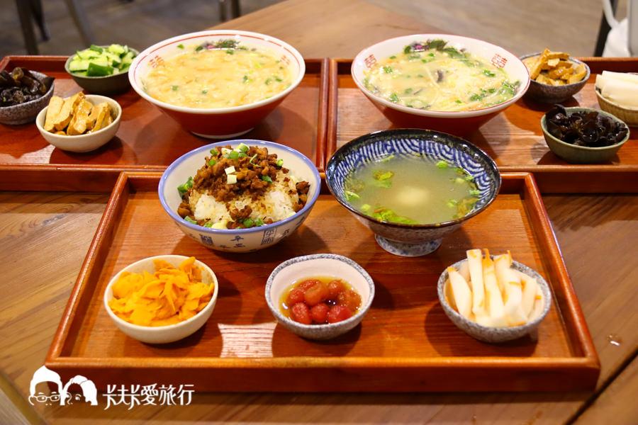 【宜蘭小吃】阿芳鹹粥|重現農村傳統的好手藝!必點宜蘭味鹹粥滷味拼盤紫米粥