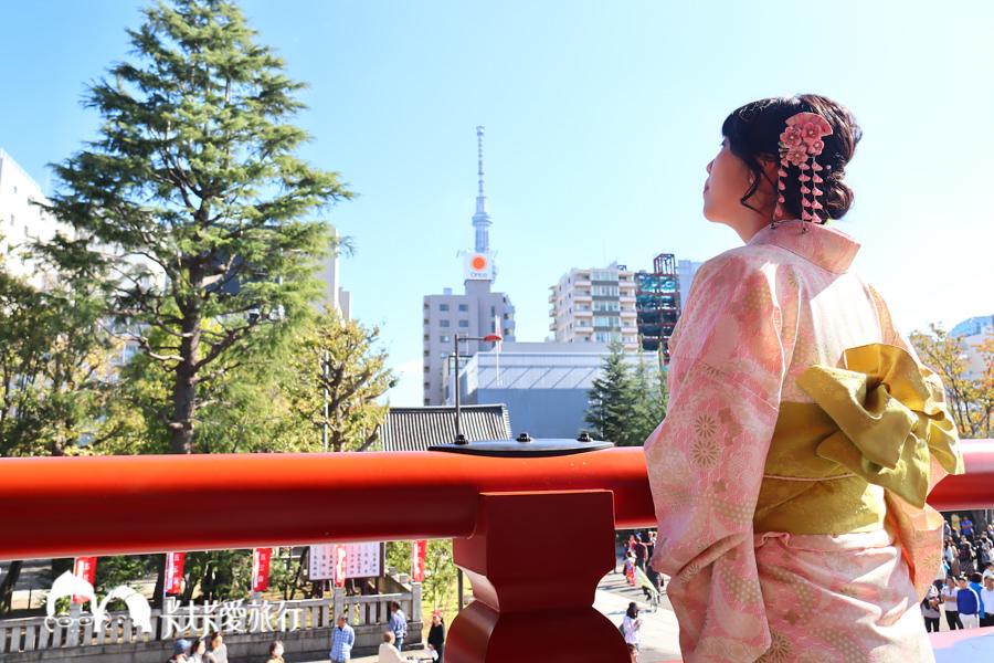 日本東京和服體驗推薦|江戶和裝工房‧雅-淺草店|中文預約及服務遊淺草寺晴空塔