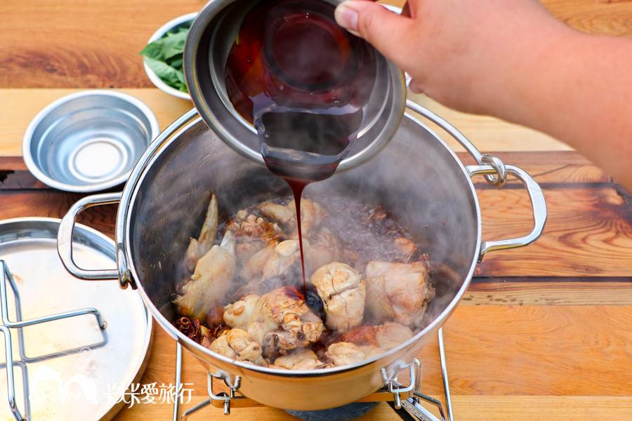 【料理食譜】三杯雞|超簡單露營野炊菜單!搭配達人私房炊具日本 SOTO荷蘭鍋 - kafkalin.com
