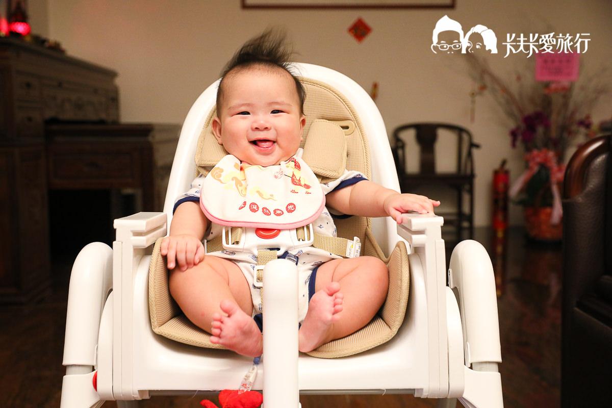 【育兒好物開箱】Myheart兒童嬰兒折疊餐椅|超中肯使用心得優點缺點分析分享