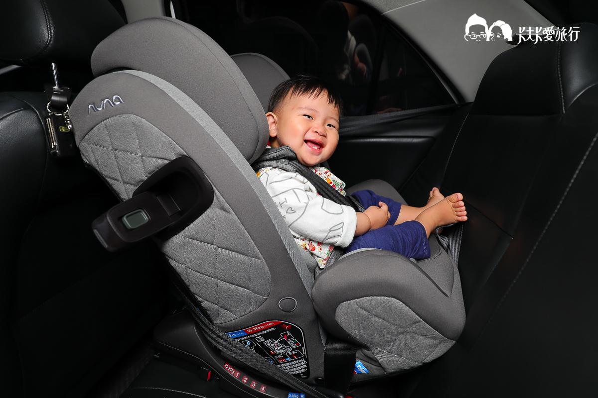 汽座推薦|Nuna TRES 全階段汽車座椅|紅點質感設計使用安裝心得優缺分享評測