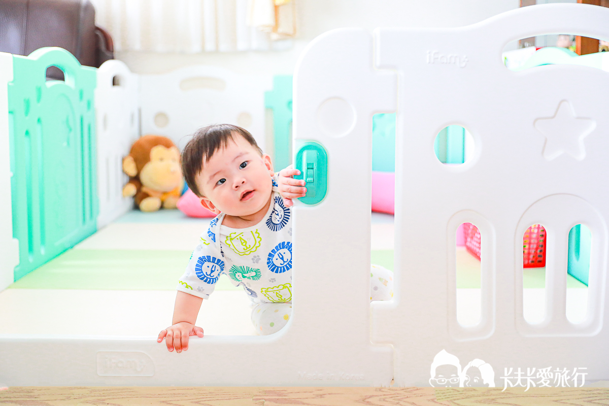 韓國ifam遊戲圍欄|馬卡龍美型城堡現正開團中!開箱評價心得無毒歐盟安全認證