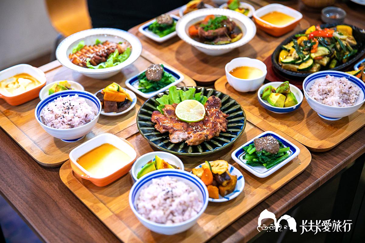 台中美食|嚴選5間台中蔬食有機餐廳推薦|簡餐無菜單吃到飽|有機之心美食餐廳