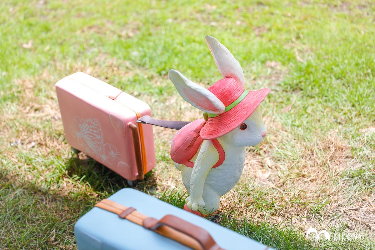 宜蘭礁溪全新景點 礁溪轉運站幾米兔子裝置藝術 夢幻兔兔森林泡湯兔子超好拍礁溪公園 - kafkalin.com