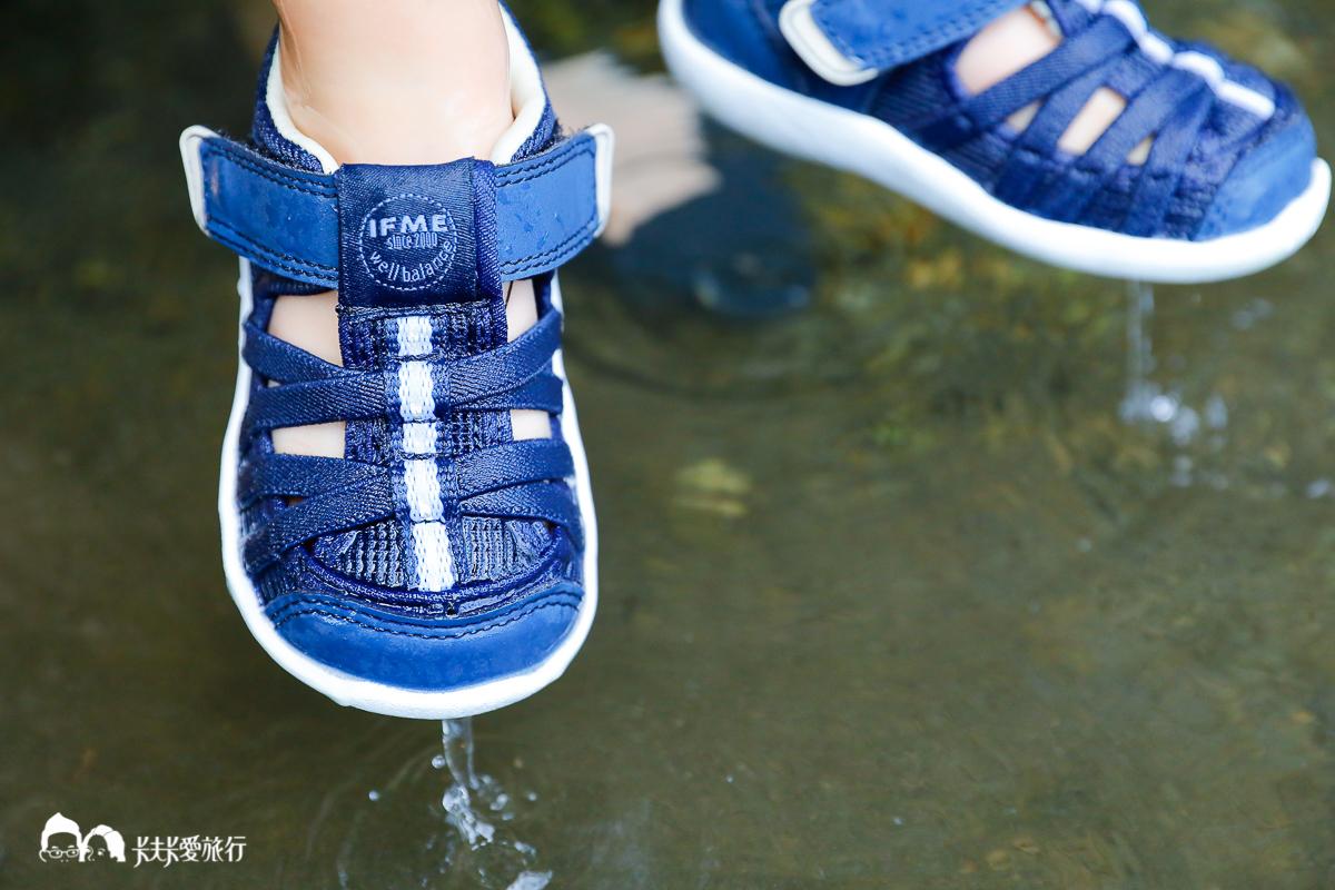 寶寶鞋推薦 寶寶日本IFME機能童鞋 戶外必備水涼鞋上山下海全搞定寶寶學步鞋評價心得 - kafkalin.com
