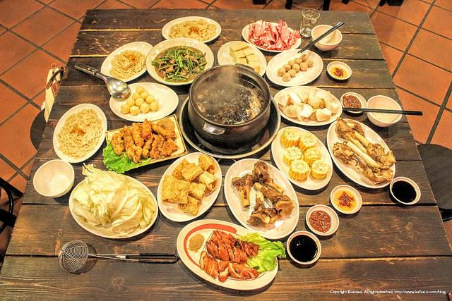 【宜蘭羅東】大漢王朝烏骨雞羊肉爐 / 冬令進補美食首選