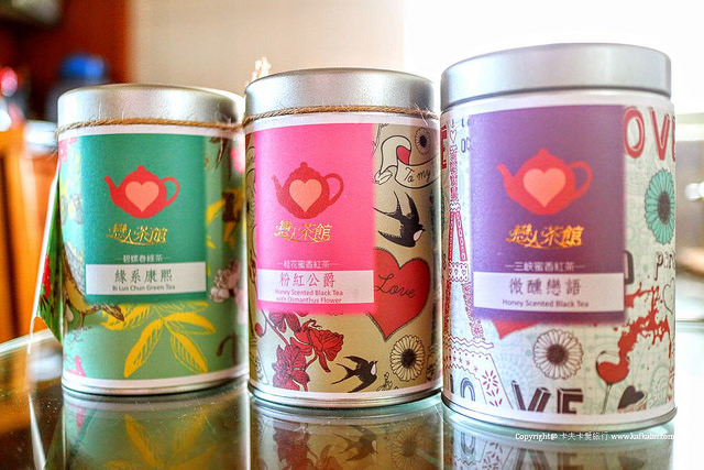 【宅配美食】戀人茶館|三峽桂花蜜香紅茶碧螺春綠茶