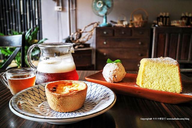 【苗栗美食】Valai 農創店|去南庄喝咖啡番庄茶東方美人茶米蛋塔