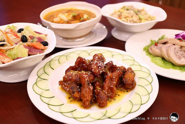 【礁溪中式】山多利大飯店 自由配經典合菜|飯店內享受高CP值中式合菜適合小家庭