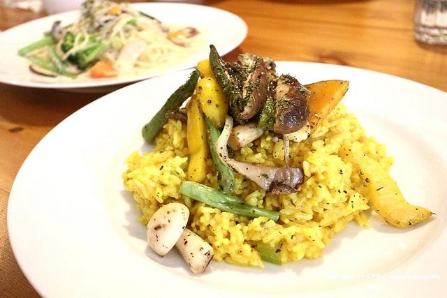 【宜蘭美食】鹿野苑蔬食料理廚房|素食料理義大利麵燉飯