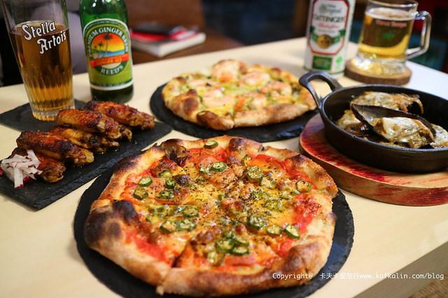 【宜蘭義式】PB工廠 PIZZA&BEER FACTORY|披薩輕食沙拉小酒館不吵雜的酒吧