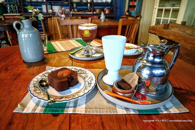 【宜蘭咖啡店】穀倉咖啡 La grange aux cafés|冬山甜點蛋糕近生態綠洲