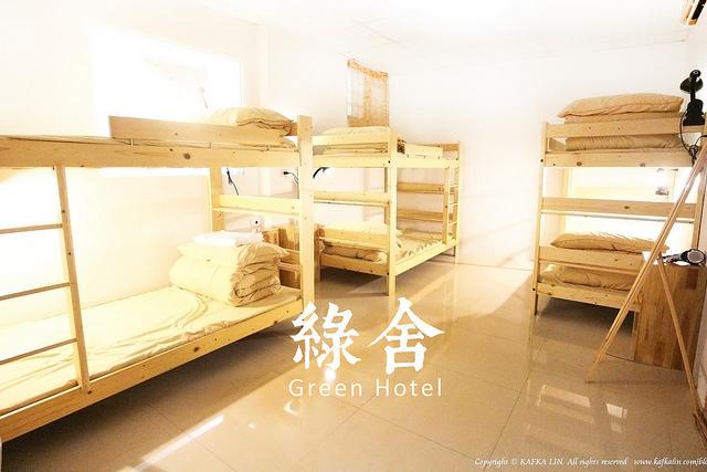【宜蘭羅東】綠舍 Green Hostel / 背包客棧青年旅館羅東夜市