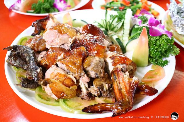 【宜蘭大同無菜單】私房鮮烤雞玉蘭放山雞|桶仔雞外燴辦桌海鮮山產野菜